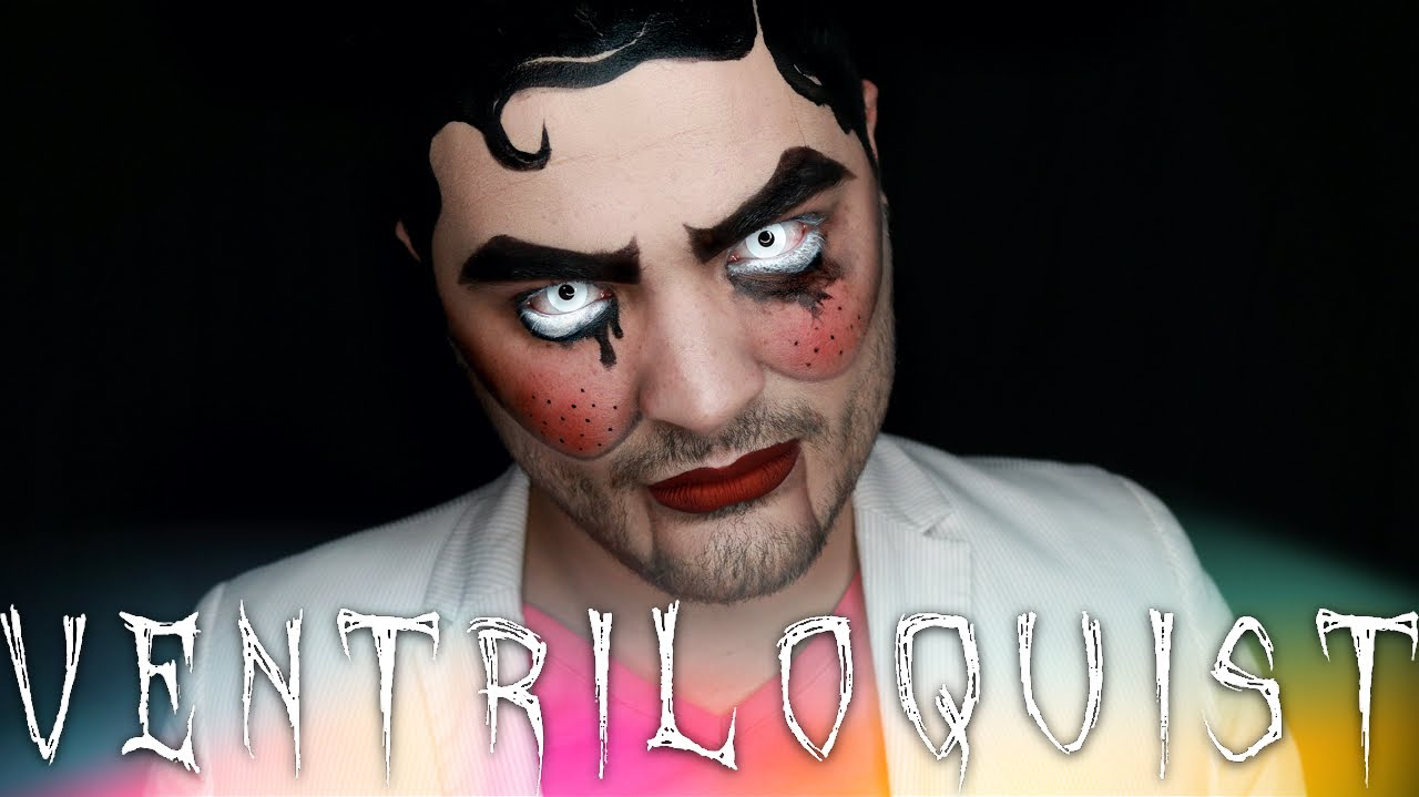 Ventriloquist Dummy Halloween Makeup Tutorial | 31 Days of ...