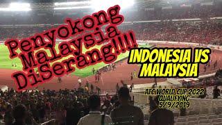 INDONESIA VS MALAYSIA | INSIDEN FAN...