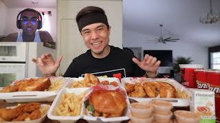 Raising Cane's Full Męnu Challenge!! (All 5 Combo Meals)! Reaction Video!