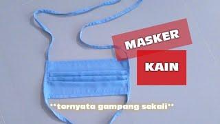 Masker bisa menjadi usaha kecil kecilan dengan modal minim tapi untung berlipat lipat. bahkan jadi tanpa modal, hanya sisa kain saja. simak ...