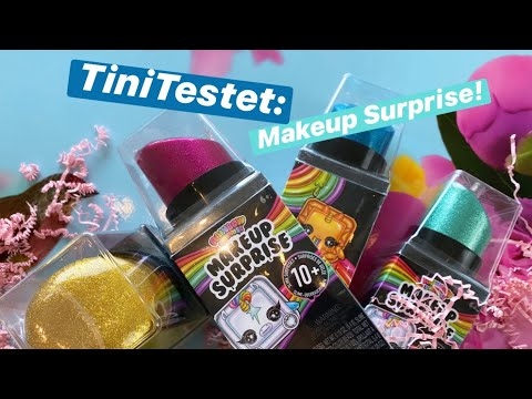 tinitestet:-poopsie-rainbow-makeup-surprise-(slime)-/-unboxing-/-opening-(deutsch)