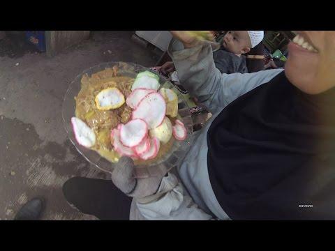 Indonesia Jakarta Street Food 1291 Part.2 Rice Cake Ketoprak Ketupat Sayur Permata Cikunir Bekasi