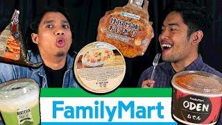 Gambar cover Makan 10 Benda di Family Mart