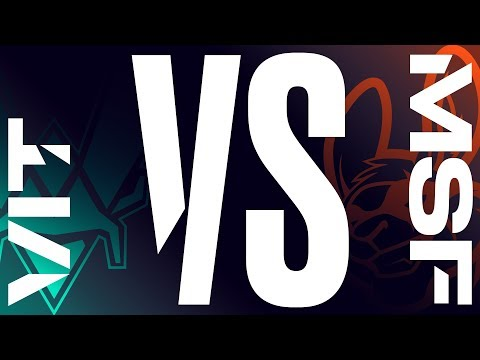 VIT vs. MSF - Week 7 Day 1 | LEC Spring Split | Vitality vs. Misfits Gaming (2019)