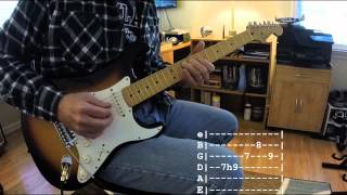 Year of the Cat Guitar Solo with Tab