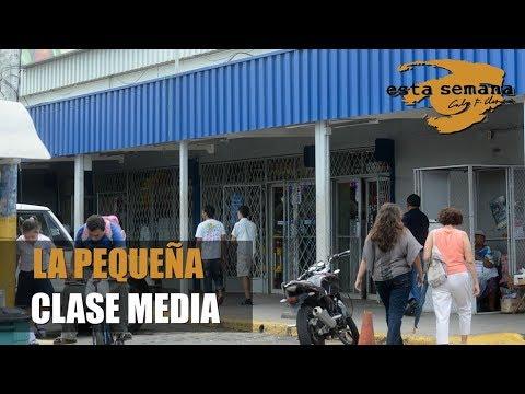 La pequeña clase media de Nicaragua
