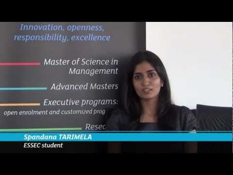 Master in Strategy and Management of International Business: Testimonial of Spandana Tarimela