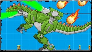 Robot Dinosaur War Giganotosaurus Full Game Walkthrough (All Levels)
