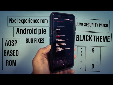 Pixel experience | June security patch | Asus max pro M1