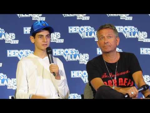 Gotham cast part 1 Heroes and Villains Fan Fest 2017