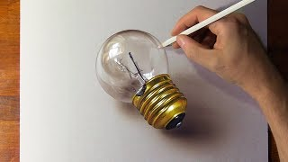 Drawing vs real light bulb. Which is the Best?