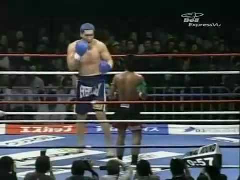 Little Man fights Big Man