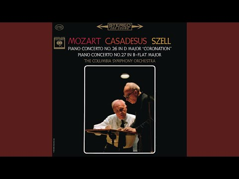 """Piano Concerto No. 26 in D Major, K. 537 """"Coronation"""" (Remastered) : III. Allegretto"""
