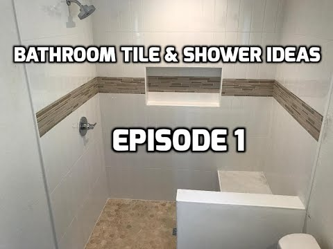 Bath & Shower Tile Ideas EPISODE 1 Vertical Subway