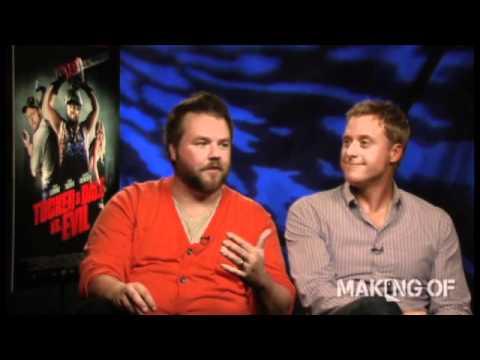 Tyler Labine and Alan Tudyk talk 'Tucker & Dale vs Evil'