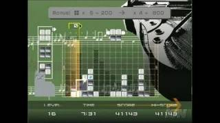 Lumines Plus PlayStation 2 Gameplay - Musical