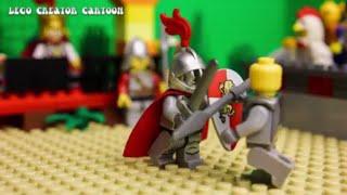 Лего мультфильм - Приключения лего рыцарей - вторая серия - stop motion