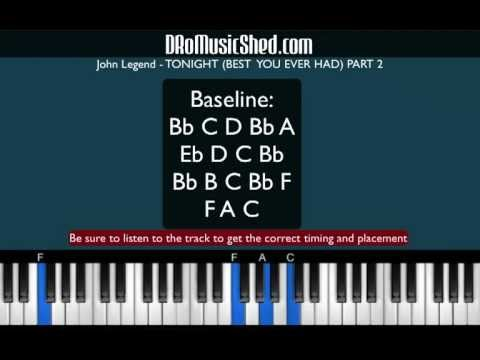 How To Play Tonight Best You Ever Had By John Legend Piano