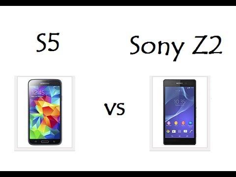 Samsung S5 vs Sony Z2 / Comparativo de Características / DavidTecNew