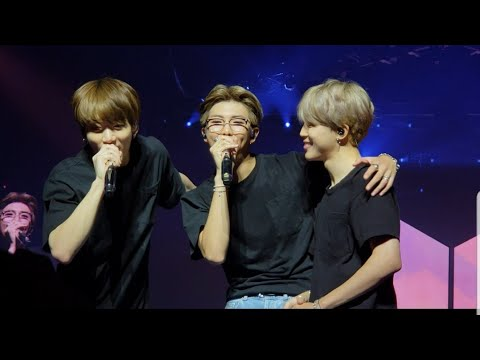 181003 (Answer: Love Myself) BTS 'LOVE YOURSELF TOUR CHICAGO' Day 2