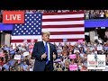 LIVE: President Donald J. Trump Rally in Erie, PA 10/10/18