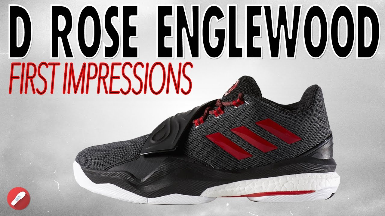 cheap for discount f94c1 d24be Adidas D Rose Englewood Boost First Impressions!