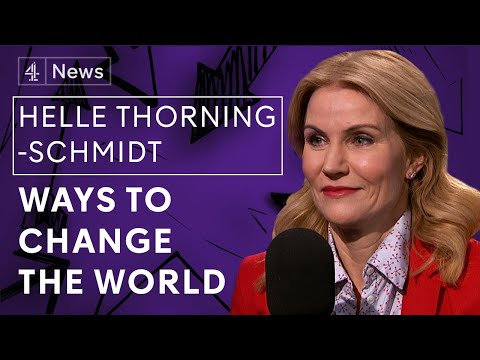 'I think we can save democracy' - Former Prime Minister of Denmark Helle Thorning-Schmidt