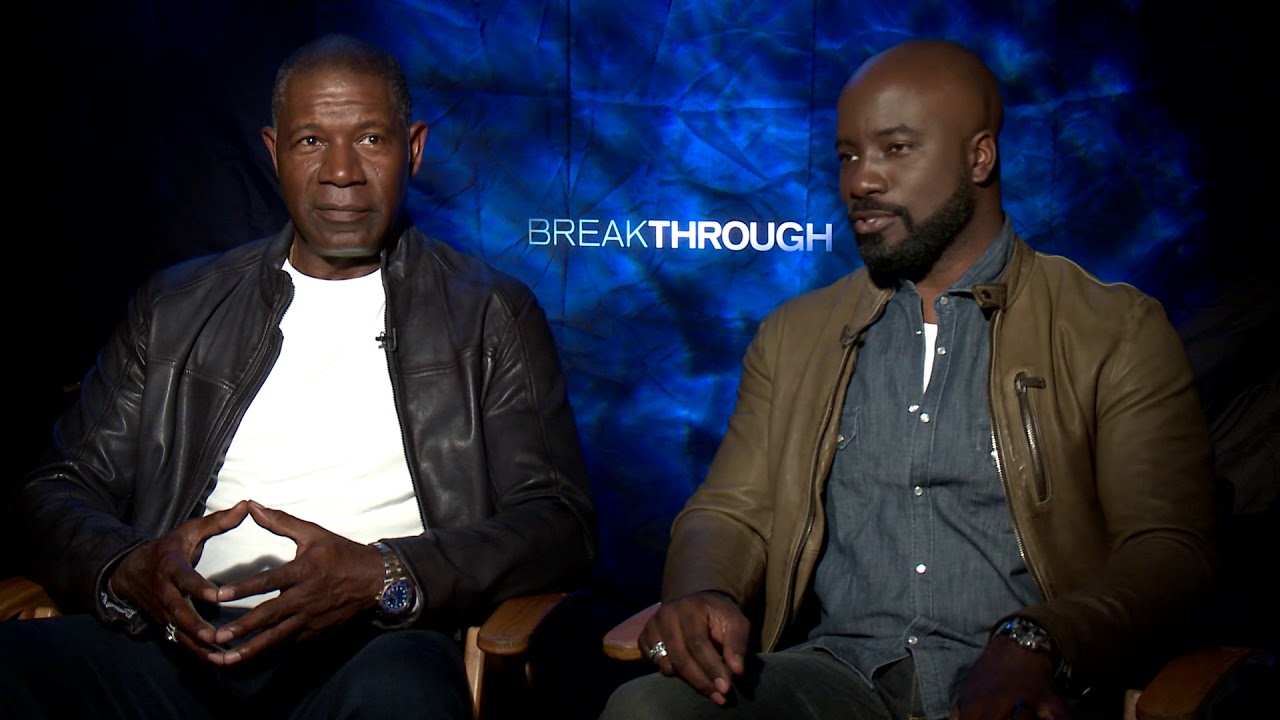 Interviews With Dennis Haysberth And Mike Colter From Breakthrough By Siaki S Youtube