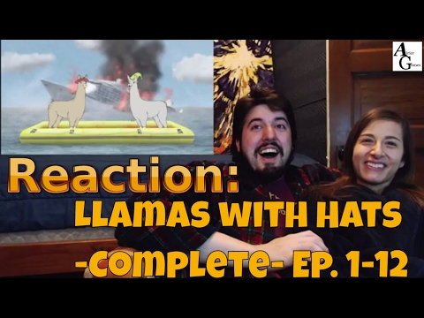 Reaction: Llamas with Hats 1-12: The Complete Series (#AirierReacts)