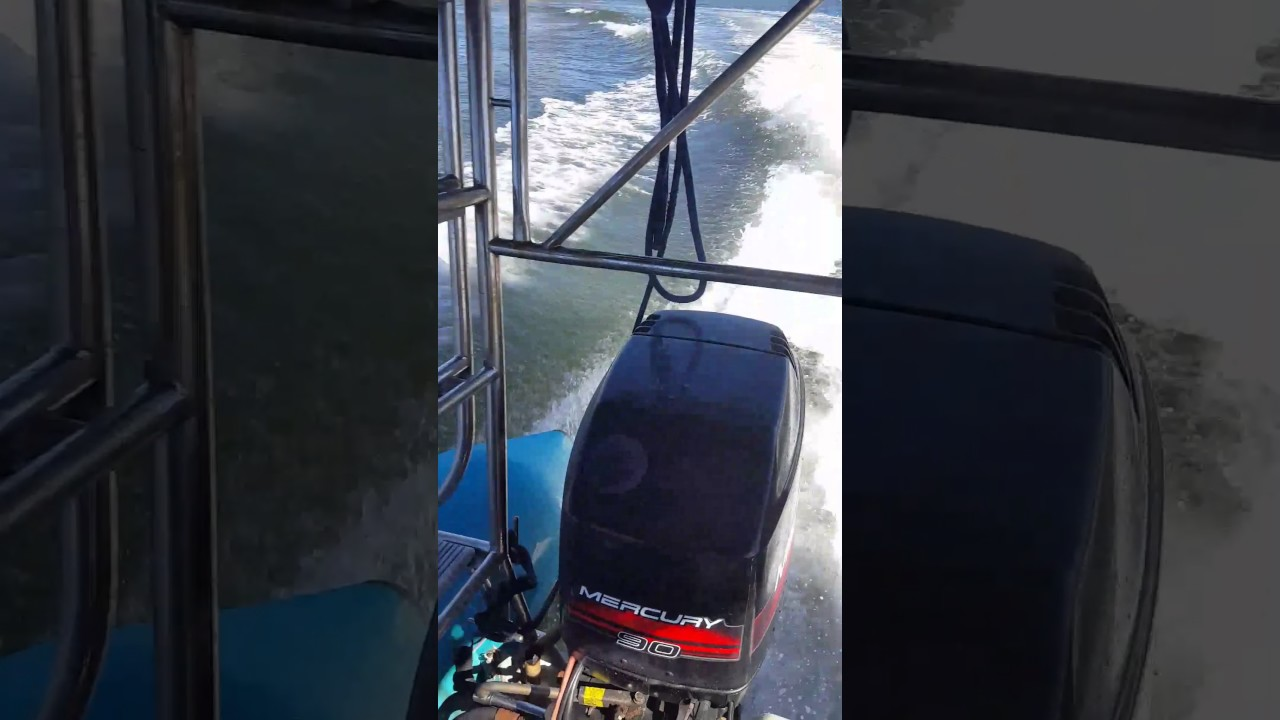 Twin 90hp Mercury outboards for sale