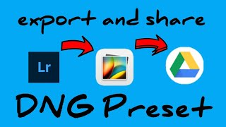 How To Export And Share (.xmp) DNG Preset In Adobe Lightroom CC Mobile App