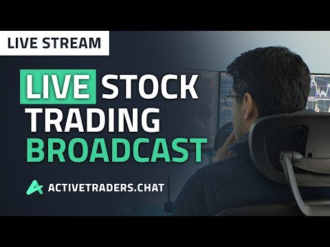 Friday Live Stock Trading Broadcast (Day Trading Stocks)