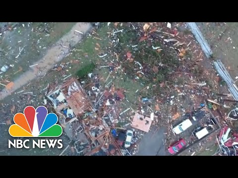 Deadly Tornadoes Devastate Nashville And Central Tennessee | NBC Nightly News