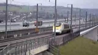 Eurostar. Medway bridge...