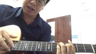 Hướng dẫn guitar bài Chờ Anh Nhé (Hoàng Dũng) -Áp dụng vài hợp âm màu giọng C