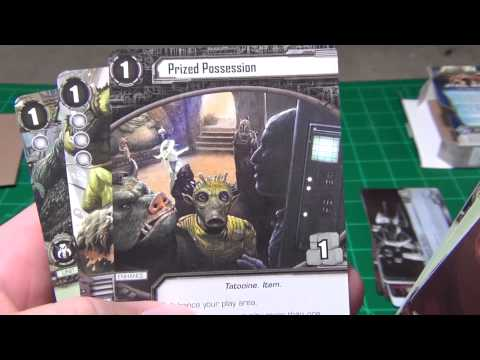 Star Wars LCG - Darkness & Light Force Pack Unboxing