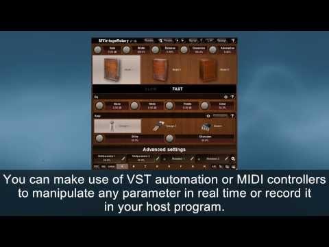 MVintageRotary rotary simulator plugin