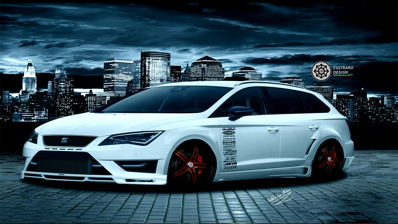 virtual tuning 118 seat leon st cupra photoshop hd. Black Bedroom Furniture Sets. Home Design Ideas