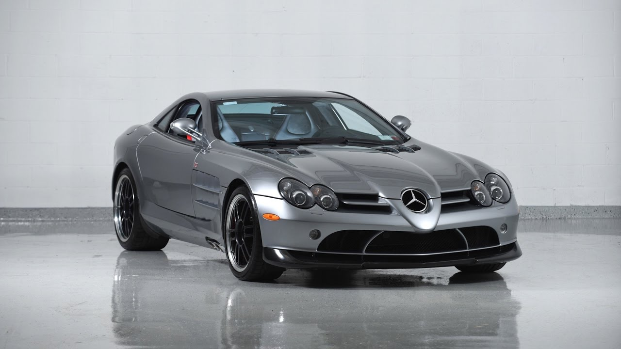 2007 Mercedes Benz Slr Mclaren 722 Youtube