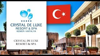 Overview  hotel:  Crystal De Luxe Resort & Spa 5* (Kemer Center)