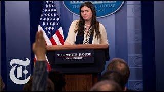 Sarah Huckabee Sanders Press Briefing after Sean Spicer