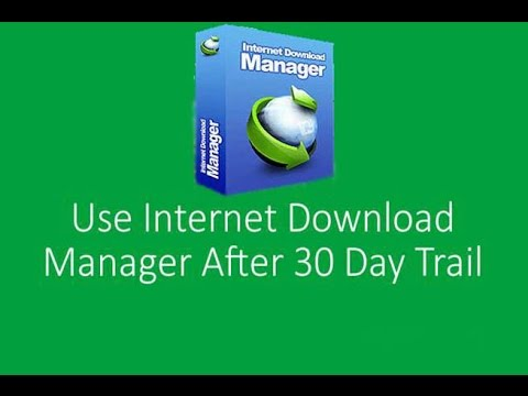Internet download manager 30 days trial reset tutorial 2018 youtube.