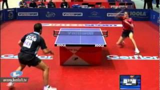 Adrien Mattenet vs Gionis Panagiotis[European Championships 2011]