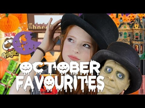 October Favourites, Poundland and Lidl Halloween Favs, Lemax Spooky Town Village | NiliPOD