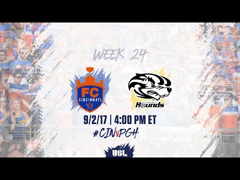 USL LIVE - FC Cincinnati vs Pittsburgh Riverhounds 9/2/17