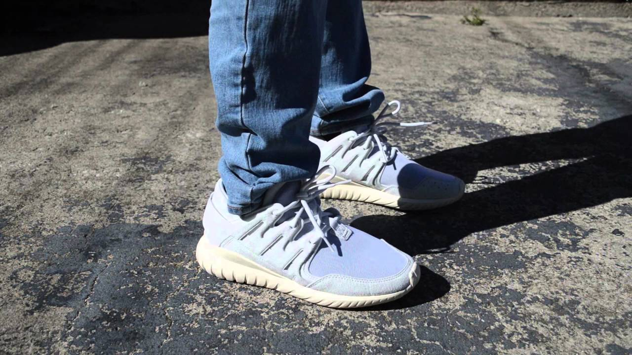 Adidas Tubular Nova Primeknit On Feet