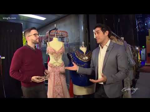 Take a backstage tour of the Disney musical Aladdin  KING 5 Evening
