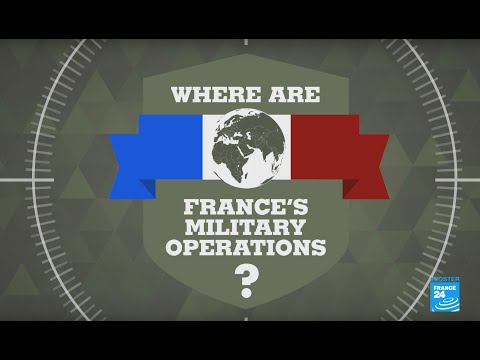 #Posters - Where are France's military operations?