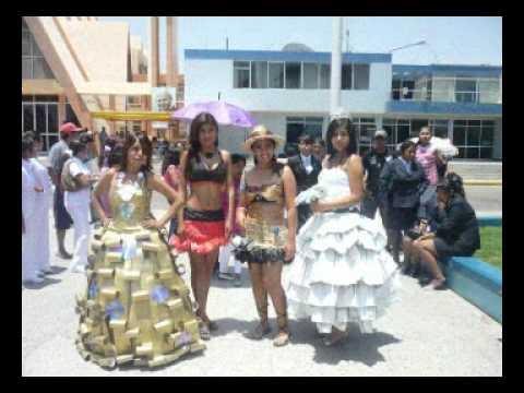 I concurso de Trajes hechos con Material de Reciclaje 2011 ISEP La ...
