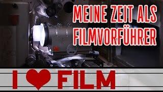 Meine Zeit als FILMVORFÜHRER! | I HEART FILM #30